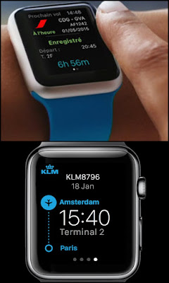 Air-France-KLM-lanzan-aplicación- relojes-inteligentes