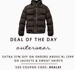 Deal of Day: Flat 37% Extra Off on Jackets & Sweat Shirts @ Myntra