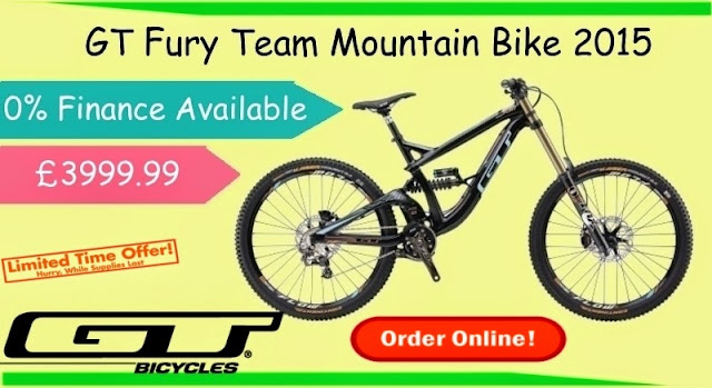 2015 Mountain Bike: GT Fury Team