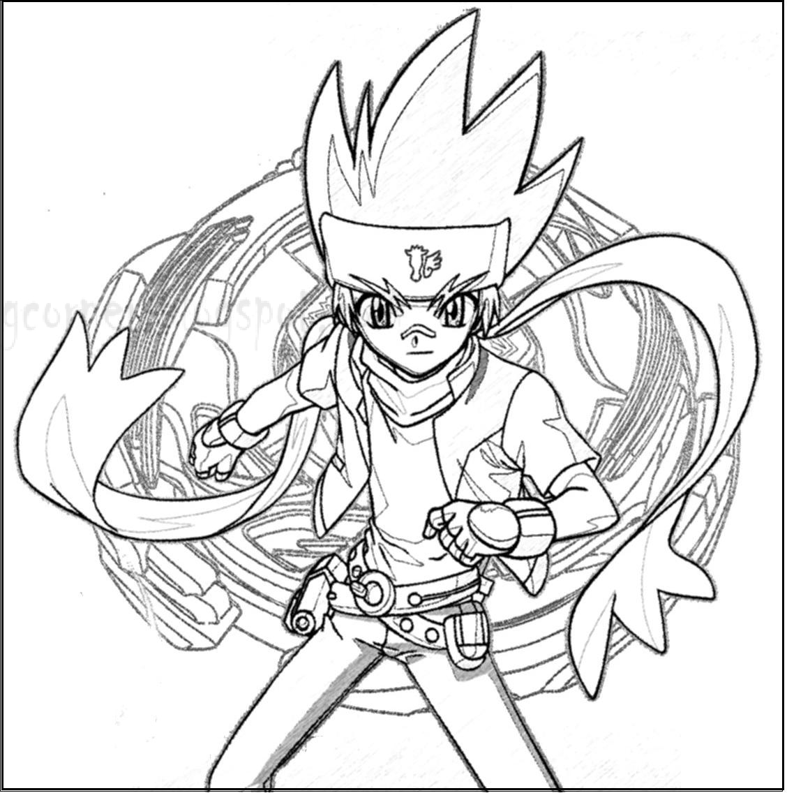 El Drago Beyblade Coloring http://printablecolouringpages.co.uk/?s=L-drago&page=1