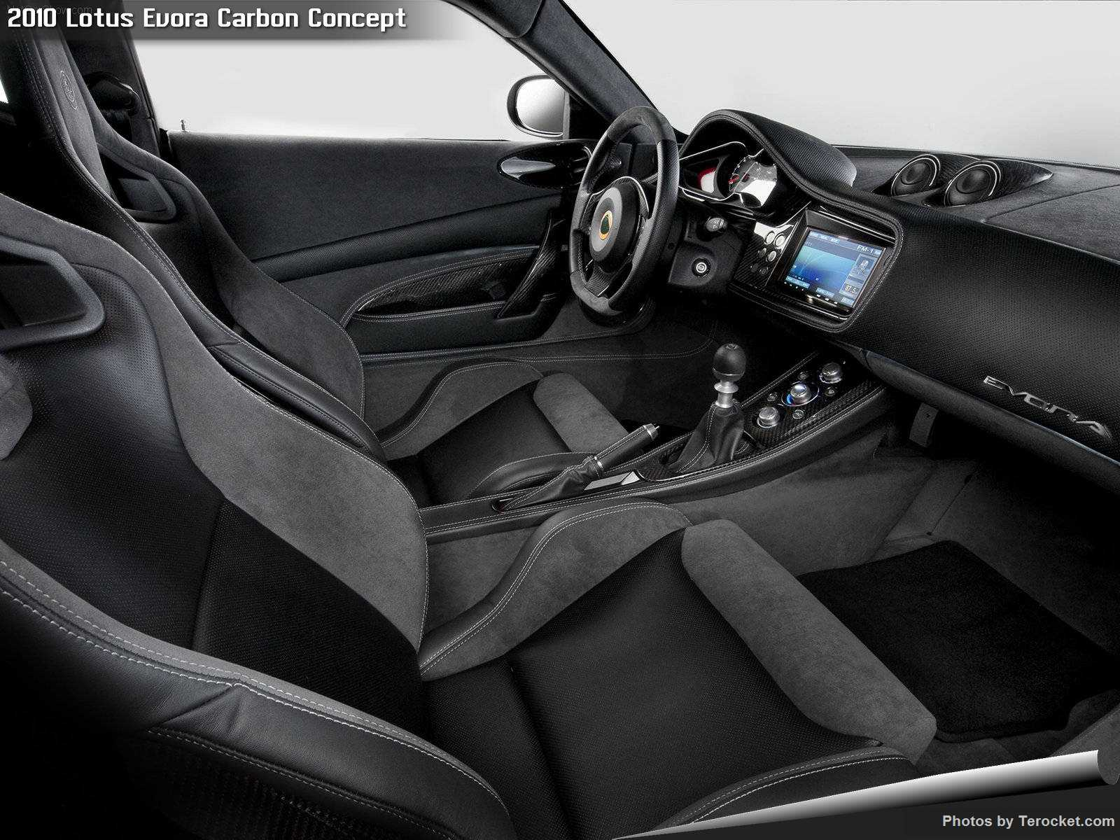 Hình ảnh siêu xe Lotus Evora Carbon Concept 2010 & nội ngoại thất