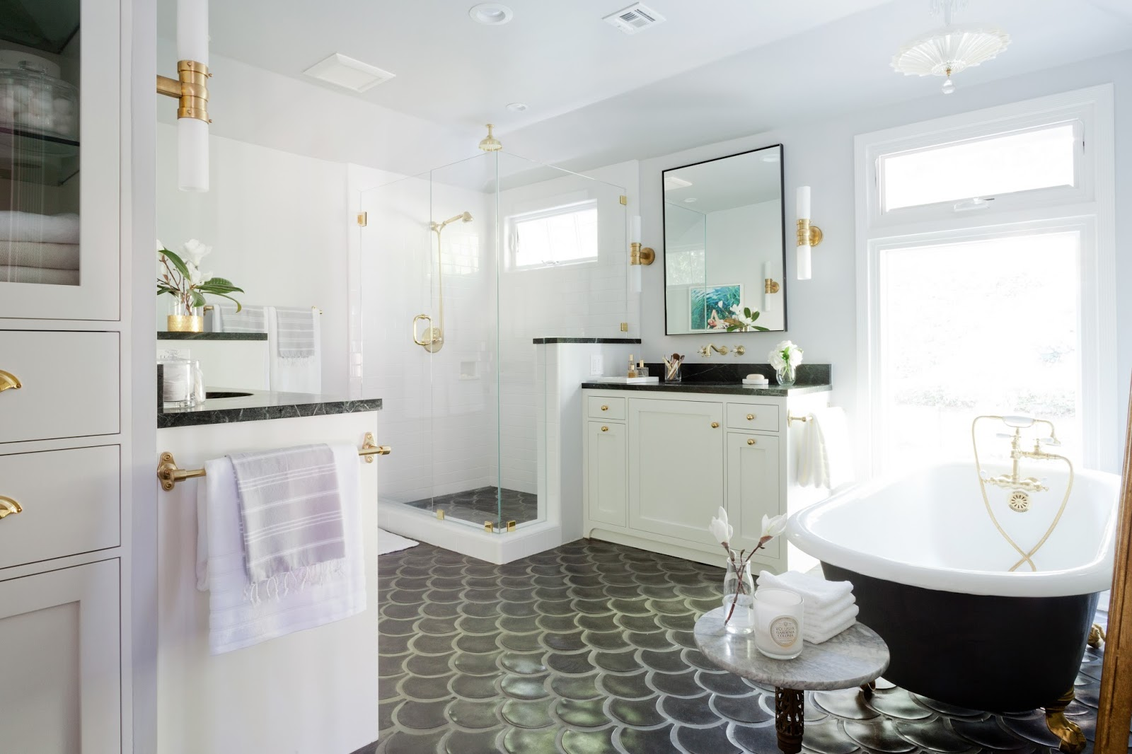 1930s Bathroom Rosa Beltran Design Deluxe Double Bathroom Remodel Published On