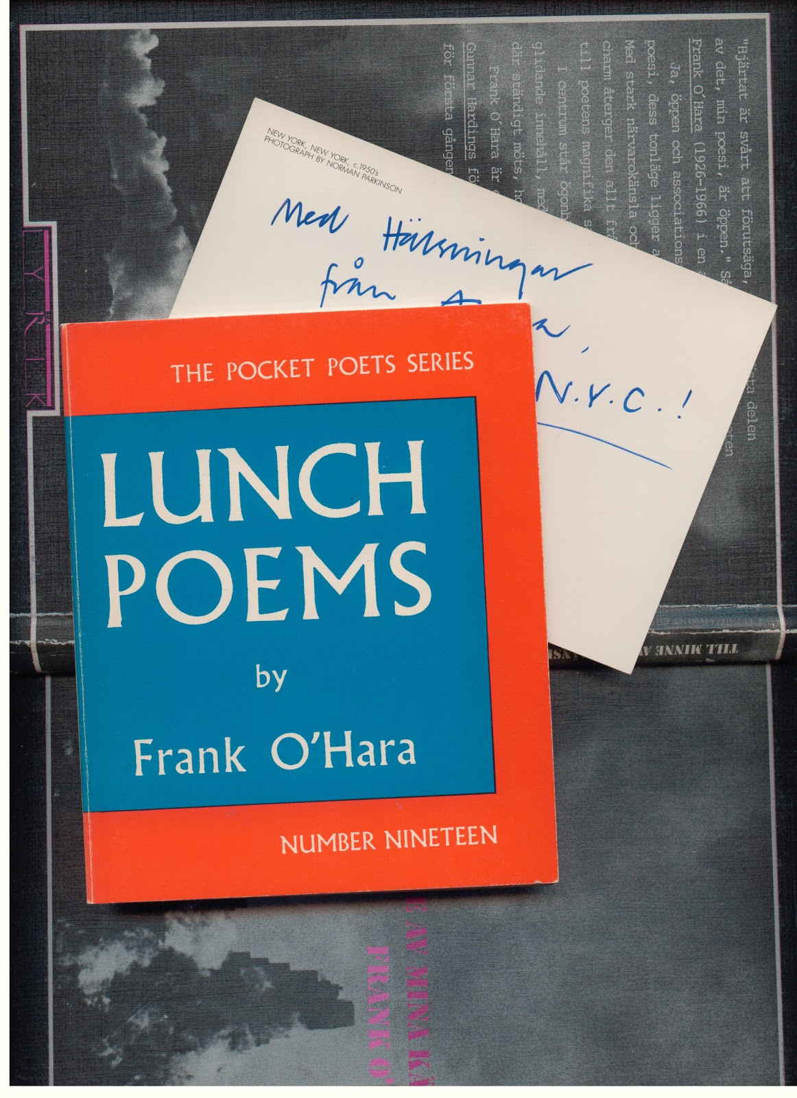 Lunch Poems, a book by Frank O´Hara | FORUM FORTS