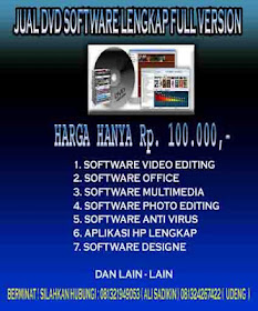 PAKET DVD SOFTWARE