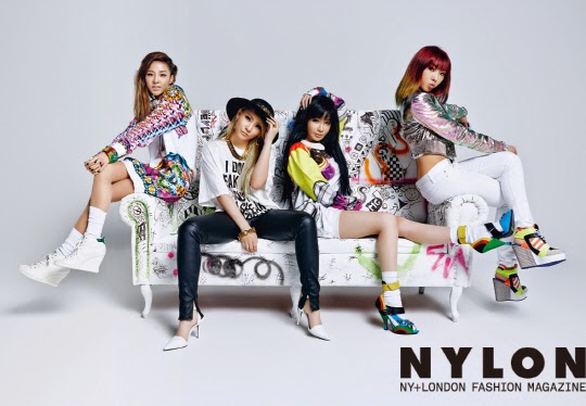 2NE1 - Nylon Magazine May Issue 2014