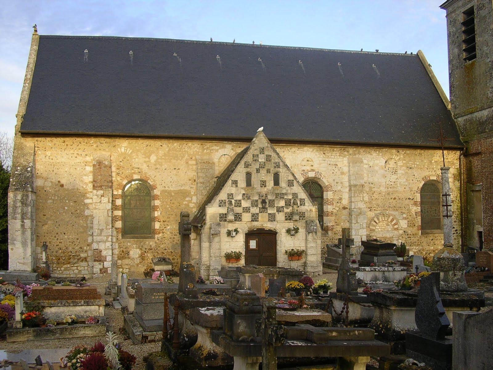 Eglise Saint-Martin à Condé-sur-Risle (Eure).