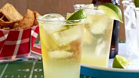Wash it all down with a refreshing adult beverage like Gina's Super Bowl Punch, which only requires a few ingredients you might already have in your kitchen.