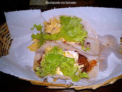 Fueguitos Mexican Fast & Healthy Food: Tacos de Frango e de Chilli com Carne Moída