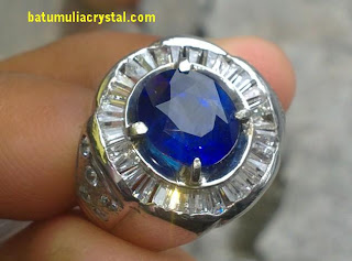 natural blue safir