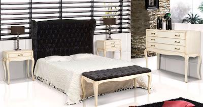 El capiton siempre es lujo - Dormitorio vintage chic ...