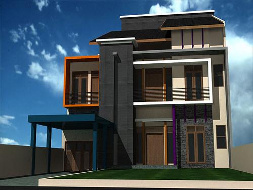Gambar Bangunan Rumah Minimalis  john contractor