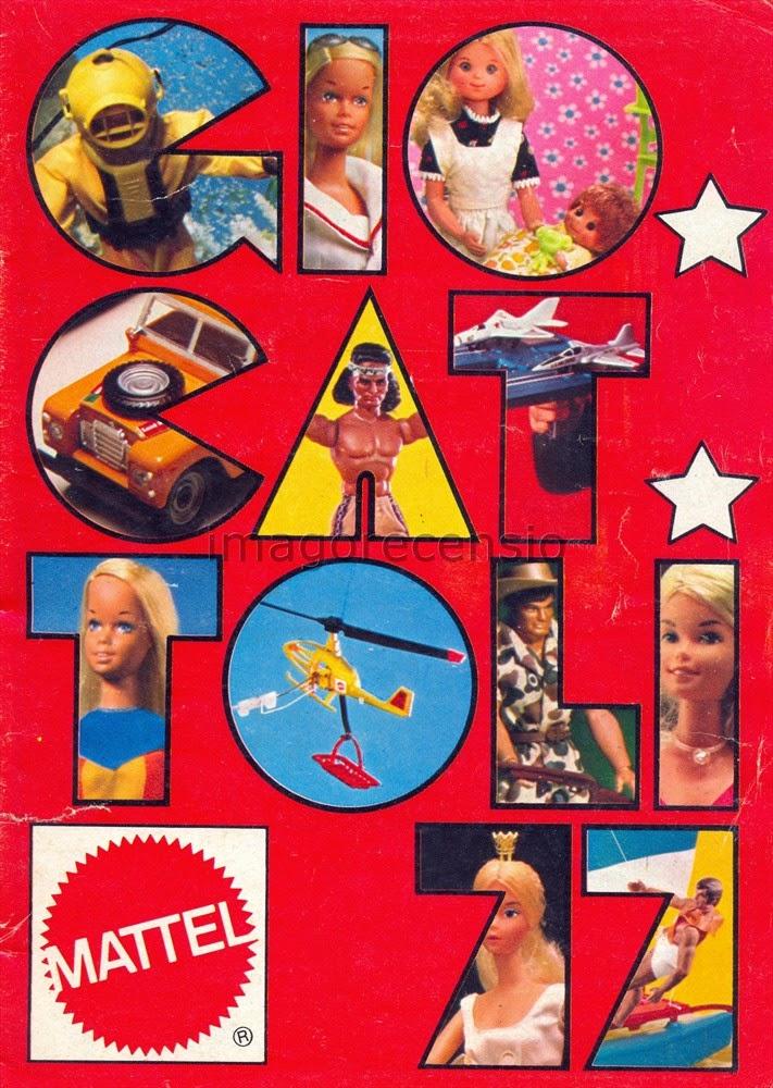 Imago recensio catalogo giocattoli mattel natale