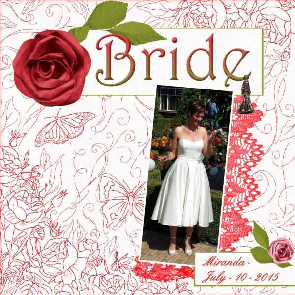 Feb.2016 – Bride