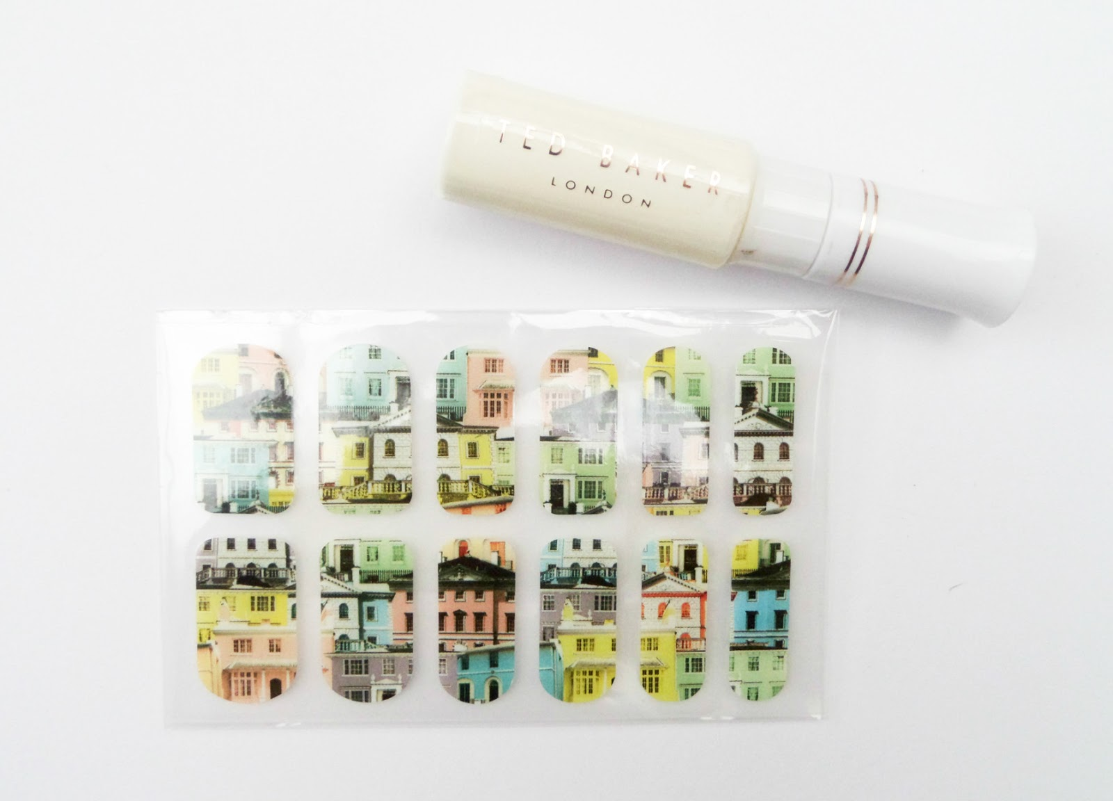 The Ted Baker London Perfectly Polished Nail Varnish Set Nail Wraps