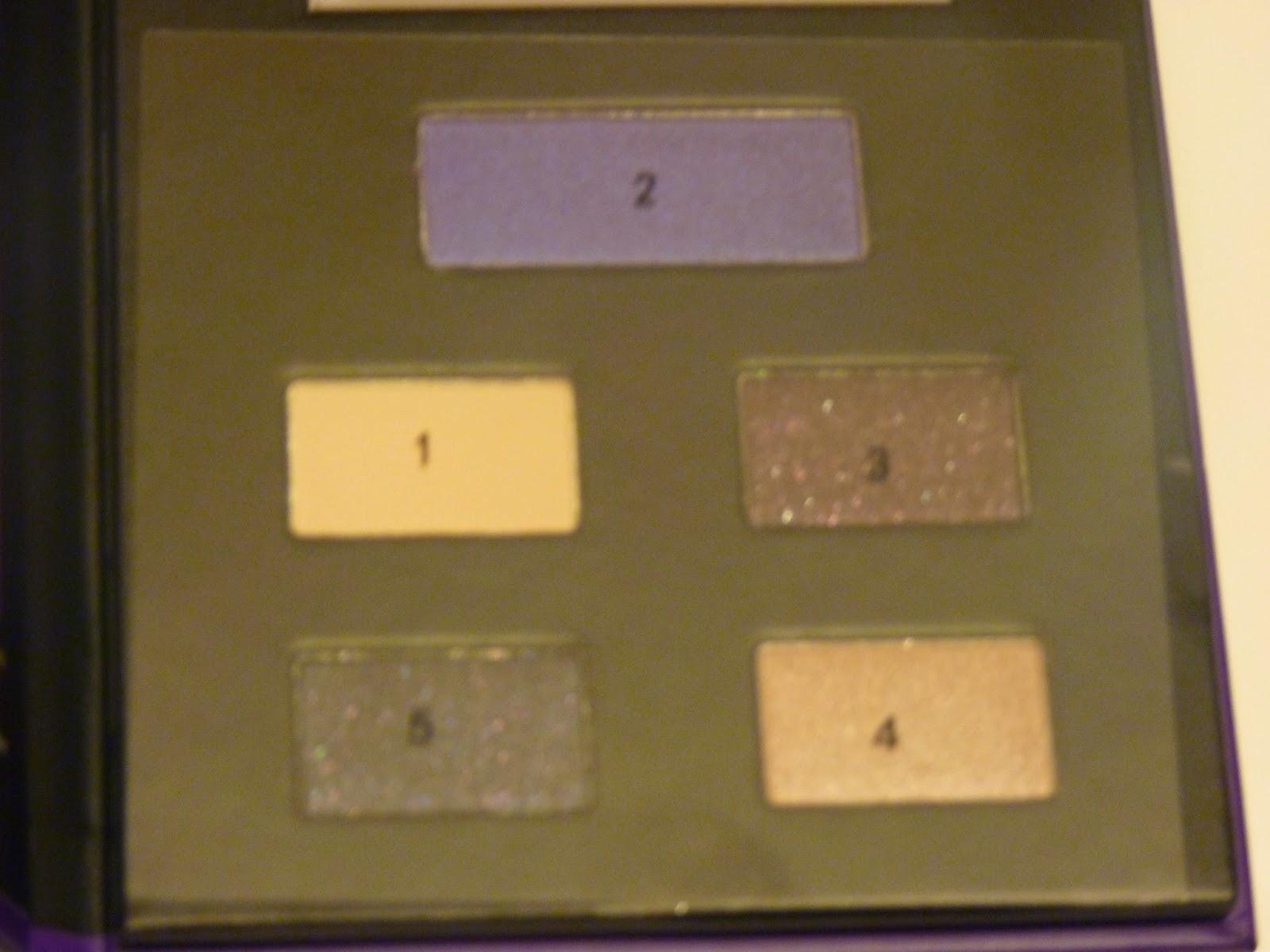 sephora, 4 eye look book, bleu, beige, bronze, gris, violet, mat, irisé, pailleté