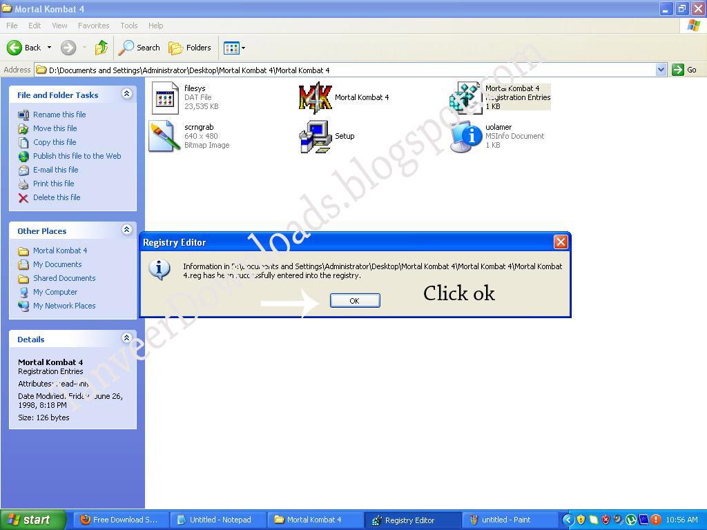 Free Downlaods Software Mortal Kombat 4 Free Download