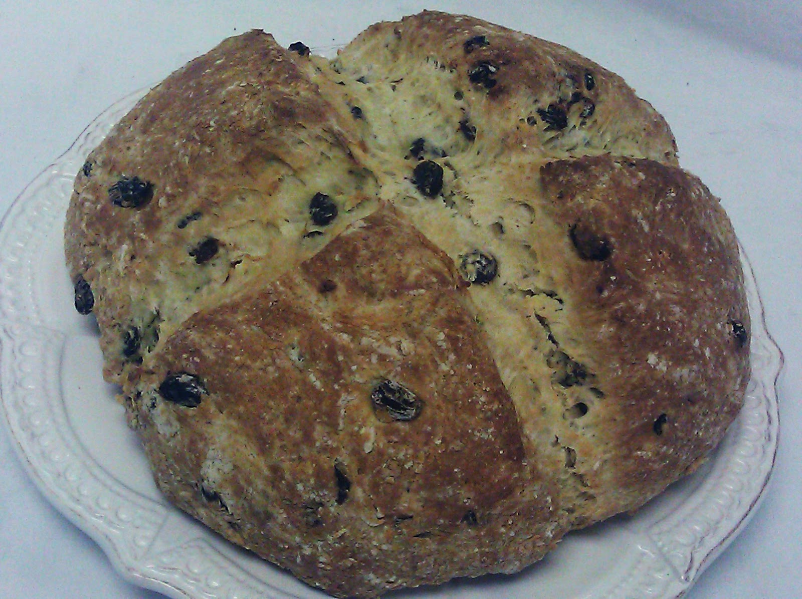 irish soda bread 4 to 4 1 2 cups flour 2 tbsp sugar 1 teaspoon salt 1 ...