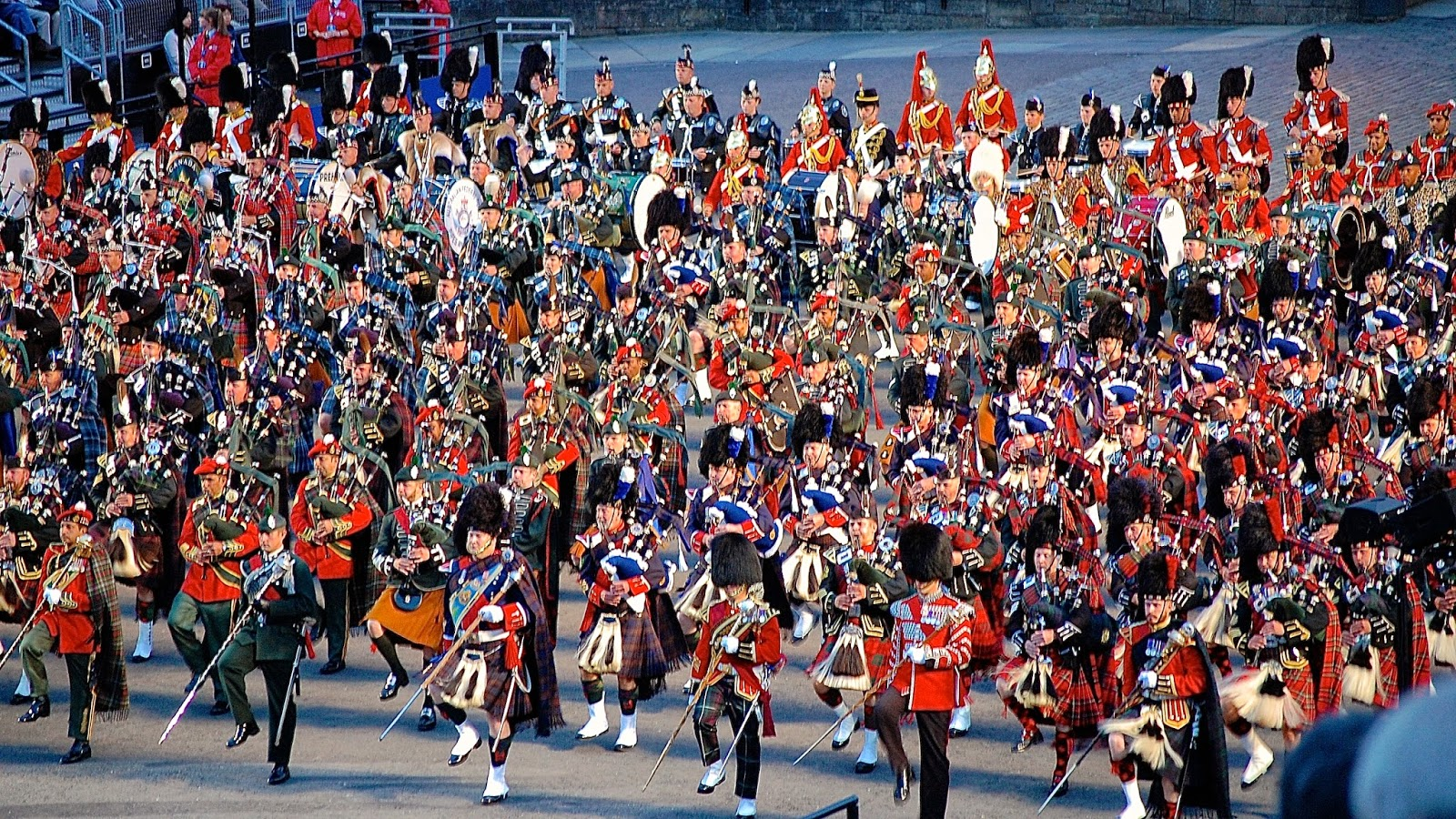 Coloring without borders the royal edinburgh military tattoo for Royal military tattoo