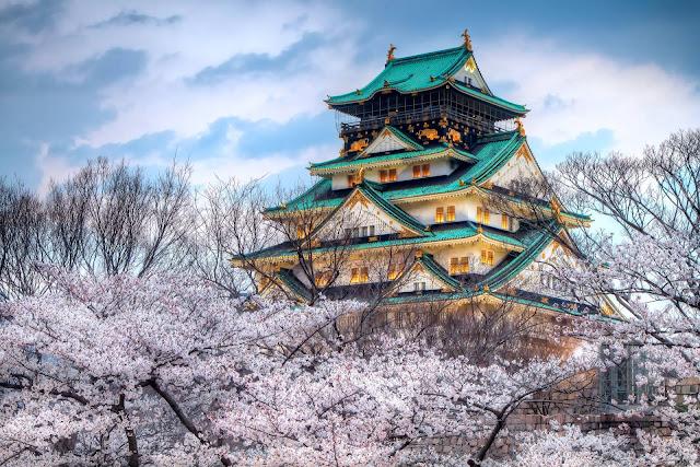 Thành cổ Osaka Nhật Bản