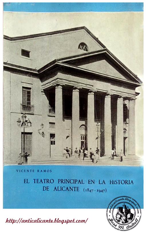 teatro principal alicante ant c detalles de una ciudad libro el teatro principal