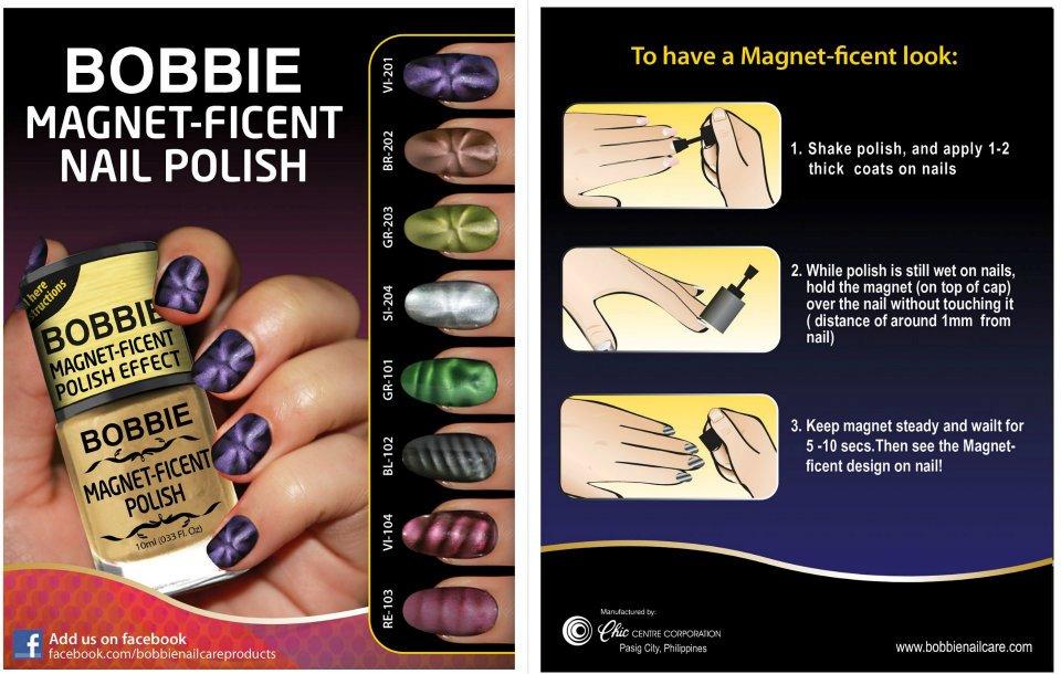 WoW Nails: Sneak Peak: Bobbie Magnet-ficent Nail Polish