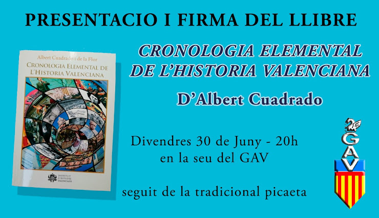 ACV 01 DIA 30, GAV PRESENTACIO LLIBRE