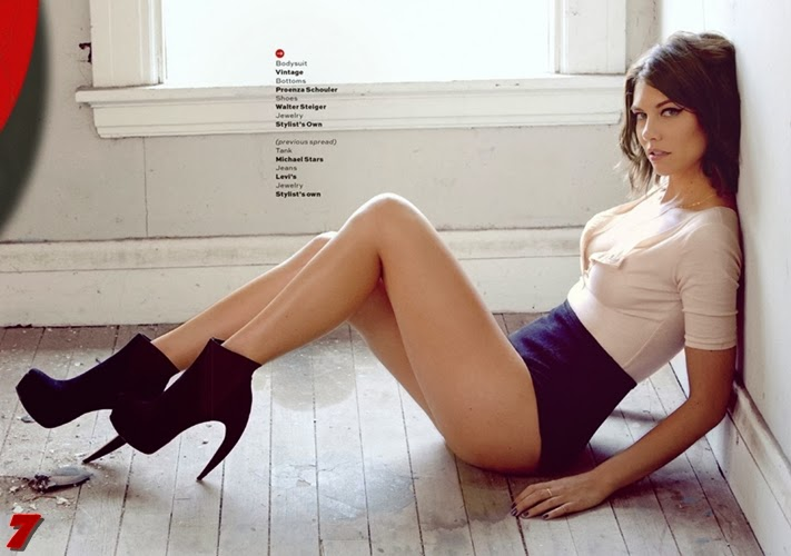 Lauren Cohan posa para Maxim, Maggie Greene de 'The Walking Dead'