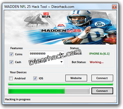 MADDEN NFL 25 Hack Cheats Unlimited Cash Unlimited Coins