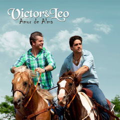 Capa do CD Victor e Leo - Amor de Alma