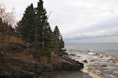 Minnesota's north shore on Lake Superior
