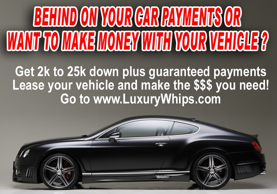 Luxury Car Lease No Credit Check