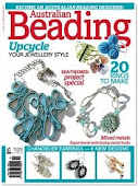 I was featured in the Australian Beading Magazine