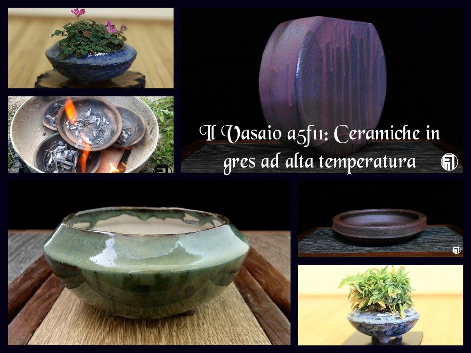 Il Vasaio A5f11: Ceramica artistica ad alta temperatura in fornace a legna.