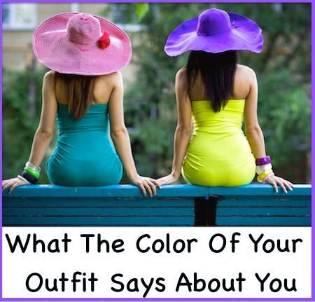 Clothes can tell a lot about person