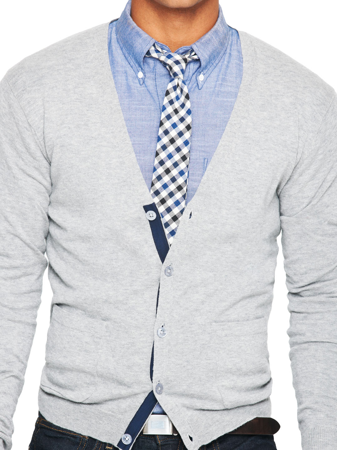 Business attire business casual for men for Casual shirt and tie