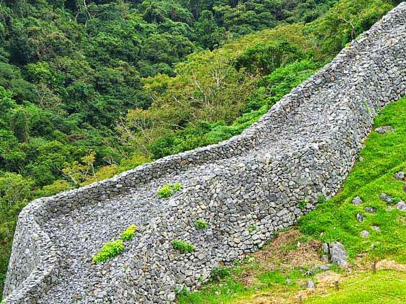 stone wall, castle