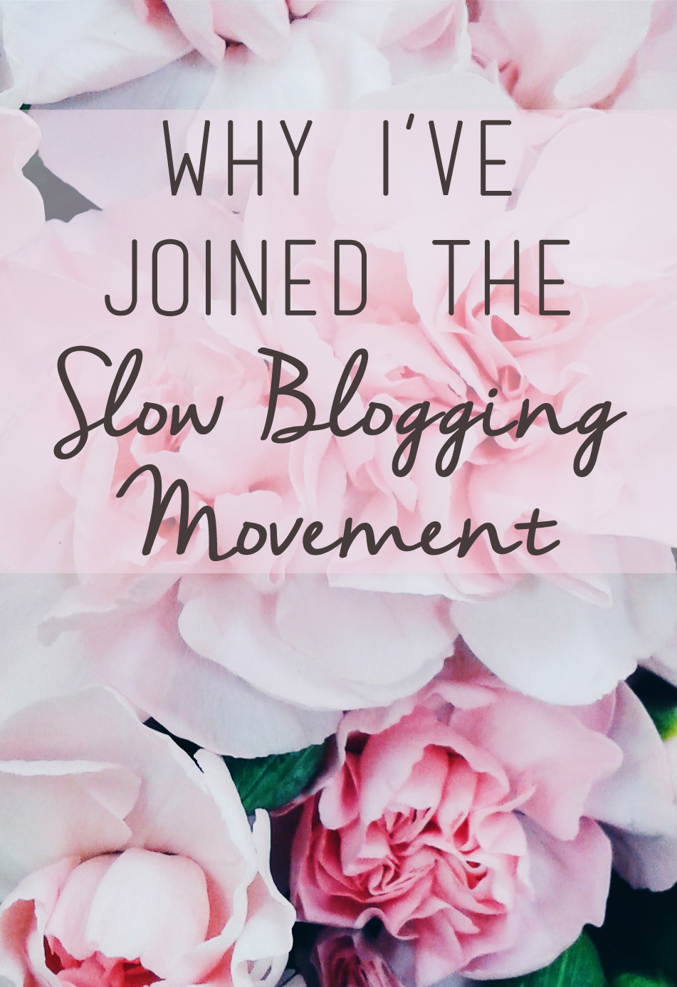 peonies, slow blogging, blogging tips, fashion blogger, slow blogging manifesto