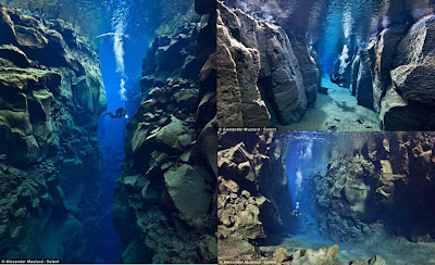 THE STUNNING TECTONIC PLATE GAP BETWEEN EUROPE AND AMERICA