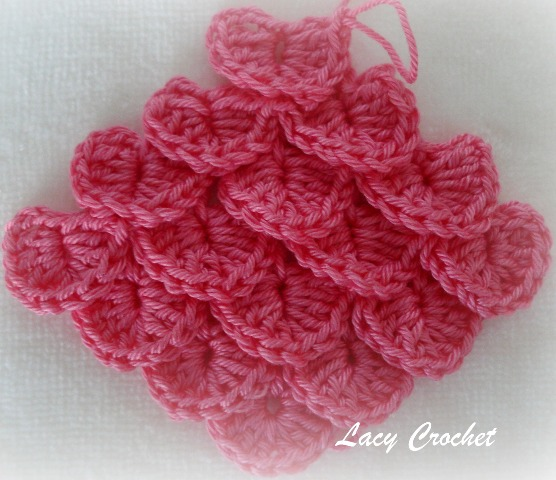 Crochet Patterns Stitches : Lacy Crochet: Crocodile Stitch