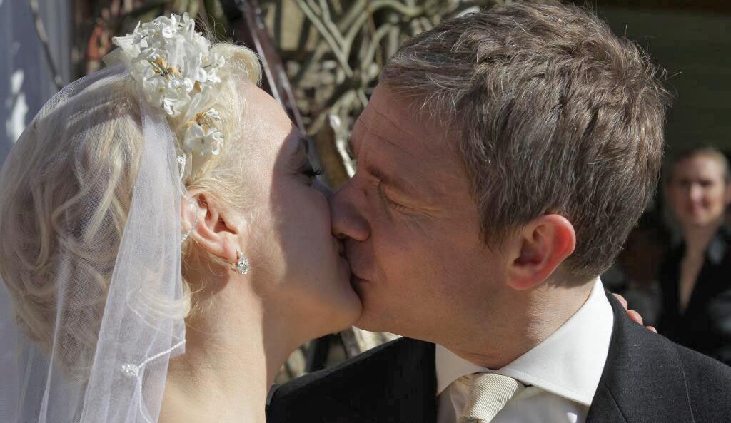 Amanda Abbington Sherlock Wedding Mycroft s comment to Sherlock