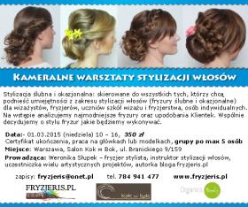 Warsztaty stylizacji włosów