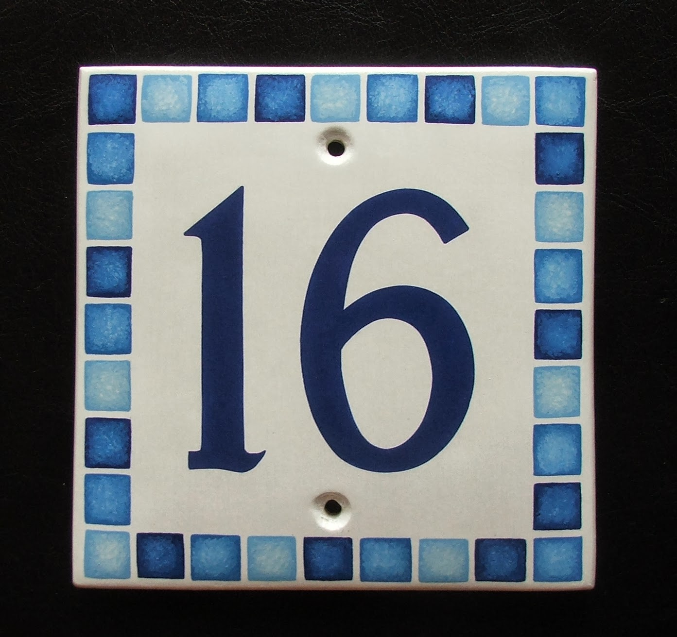 Hand painted house signs by ceramic art hand painted ceramic small oval house number sign with robin see more of our hand painted ceramic signs at handpaintedhousesigns dailygadgetfo Images