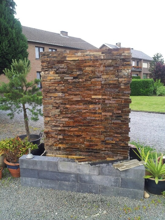 home design ideas  amazing outdoor water walls for your backyard