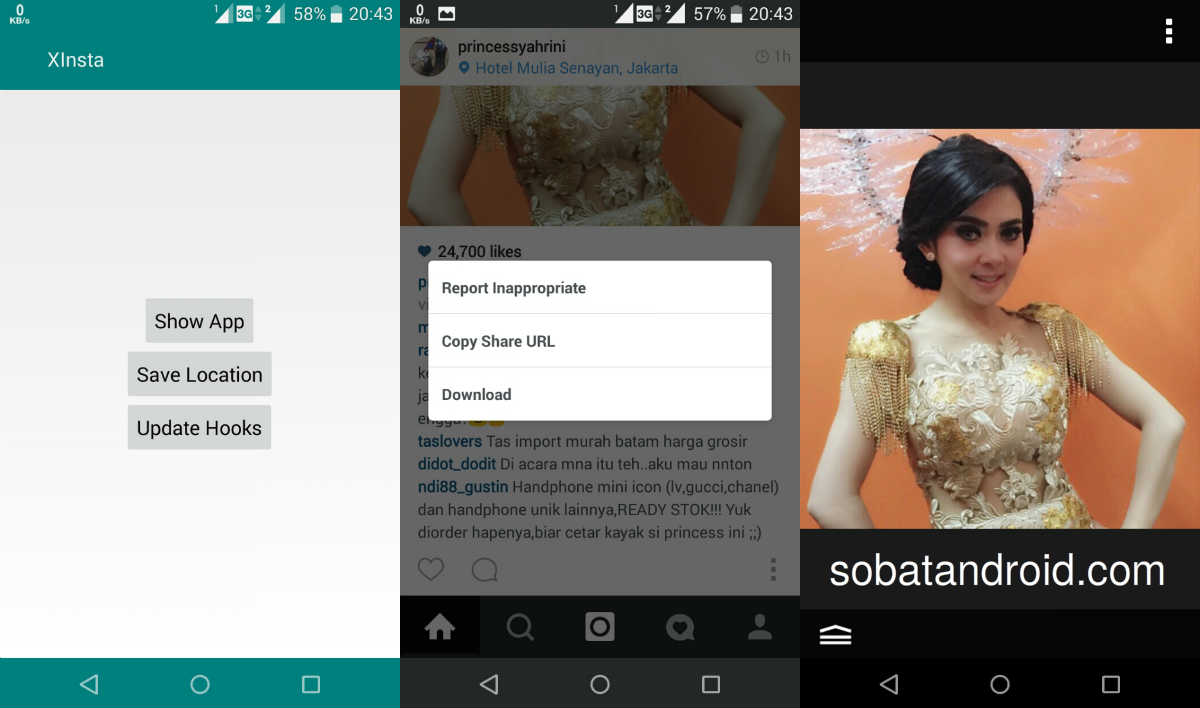 Cara Download Foto Instagram di Android ASUS Zenfone