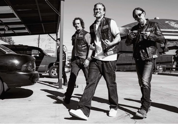 Sons of Anarchy - Season 7 -  EW Scans and Photoshoot Photos