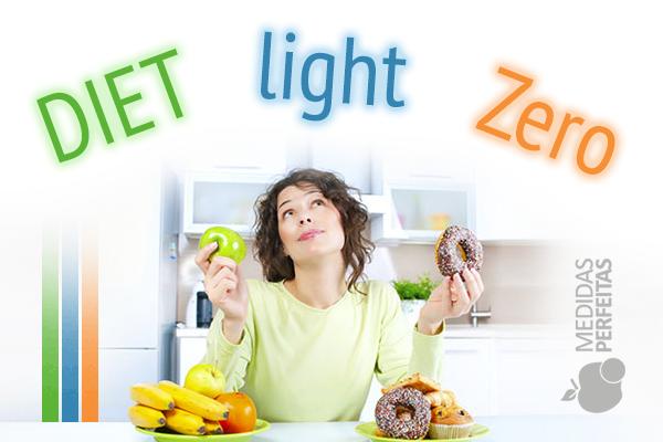 Entenda qual a diferença entre diet, light e zero