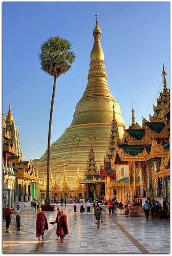 Pagoda, Yangon, Myanmar
