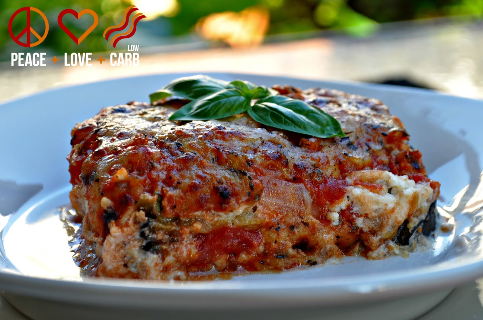 Eggplant Lasagna with Meat Sauce