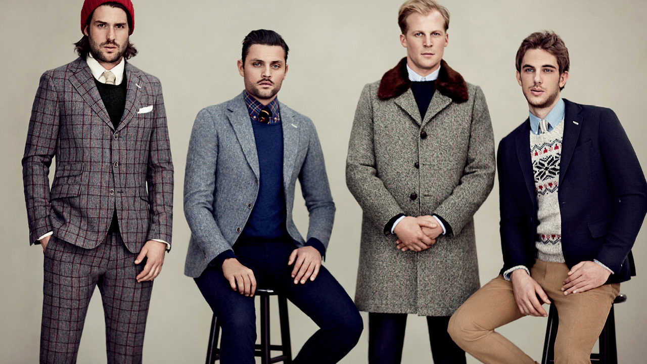Bien connu COOL CHIC STYLE to dress italian: GANT Rugger FW 2012 Ad Campaign JN87