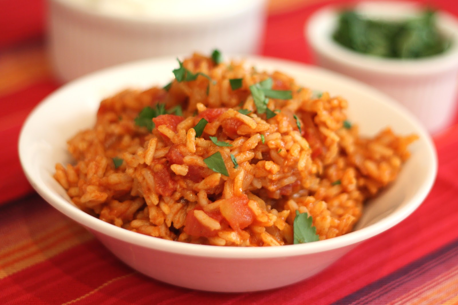 Barefeet in the kitchen spanish rice for Side dishes to go with smoked chicken